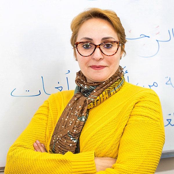 Mounia Ben Sbih profesora en Aprender Arabe en Granada con Dar Loughat España
