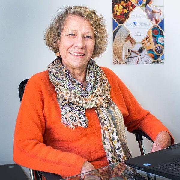 Patricia Nicholls profesora en Aprender Arabe en Granada con Dar Loughat España