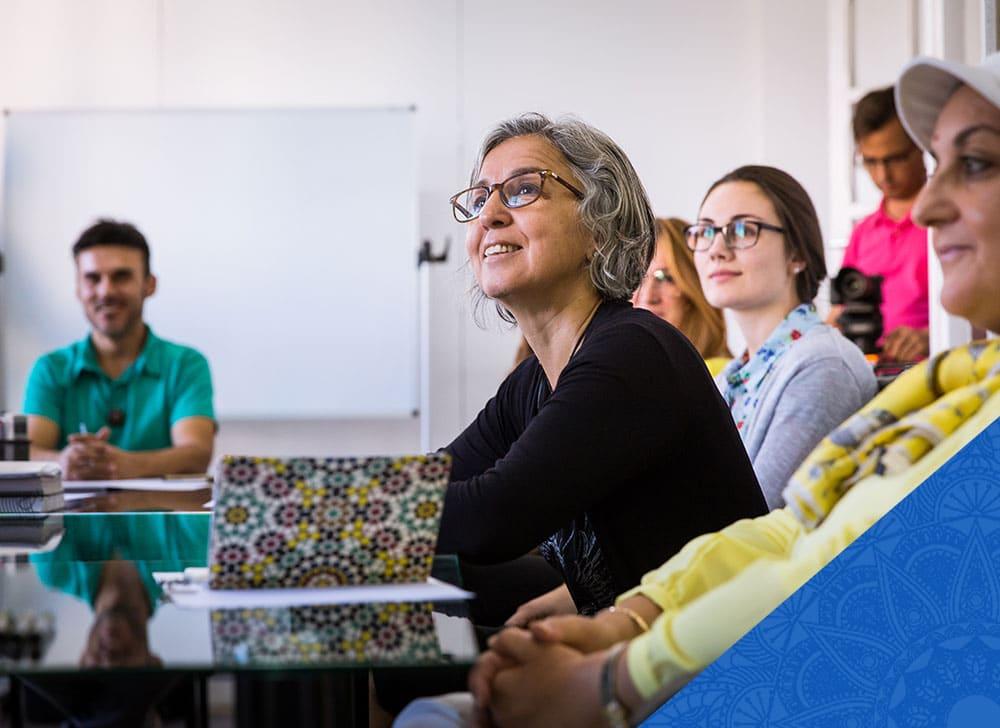 Curso para aprender dialectos árabes en nuestro centro Dar Loughat en Granada, España.